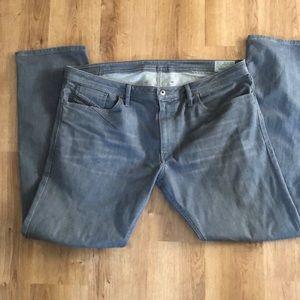 Grey diesel jeans